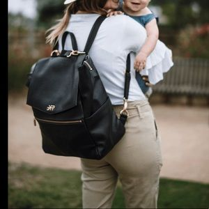 Freshly picked diaper bag backpack
